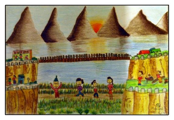 Landscape by Meenal