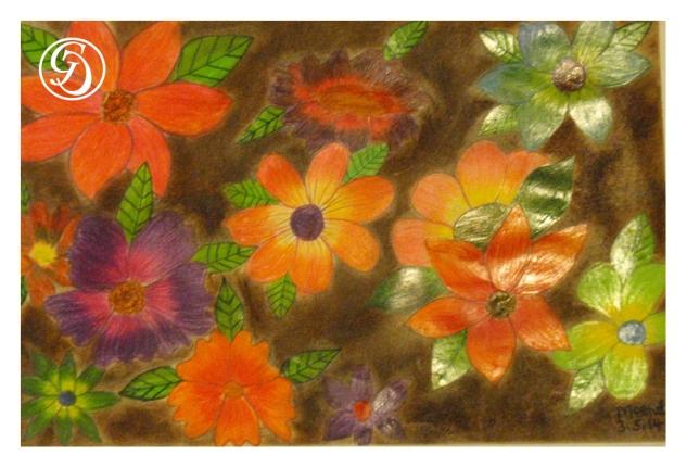 Flower Pattern by Meenal
