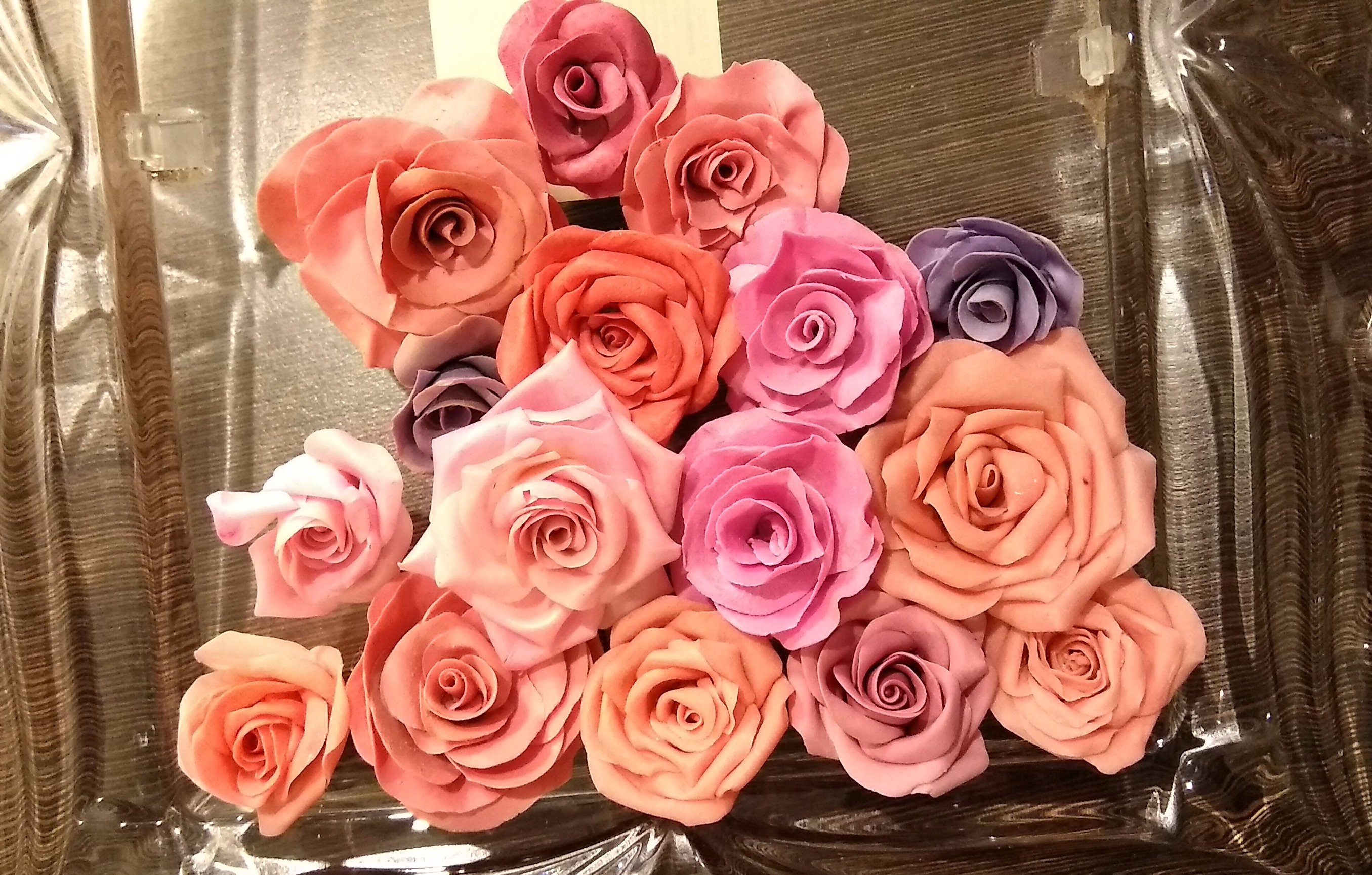 Clay Roses 1