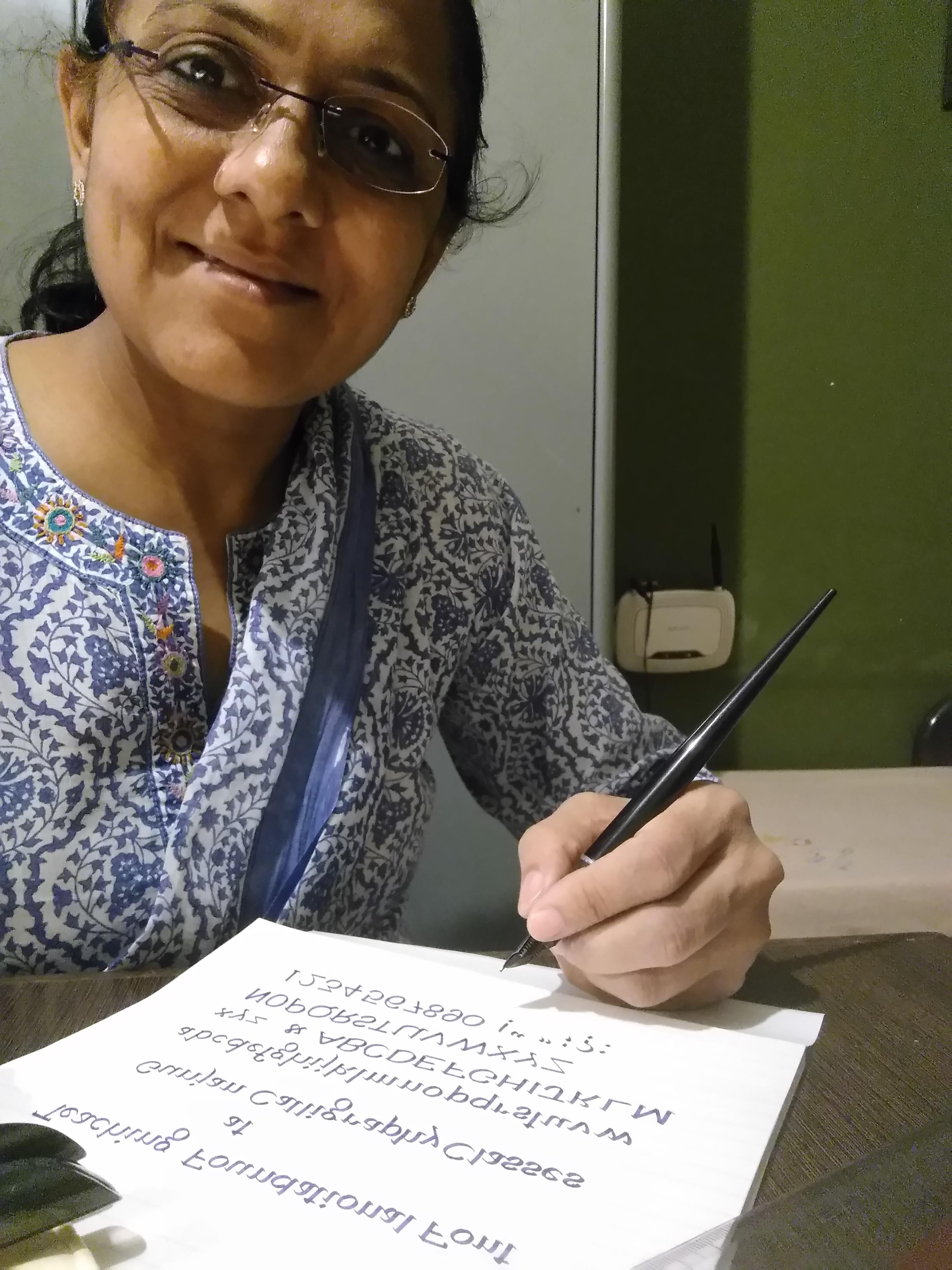 Gunjan Calligraphy & Handwriting Classes