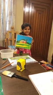 water painting - Aditi